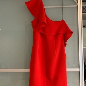 Red Rachel Zoe,off the shoulder dress, new w/ tags